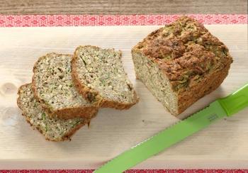 Courgettebrood met hazelnoten