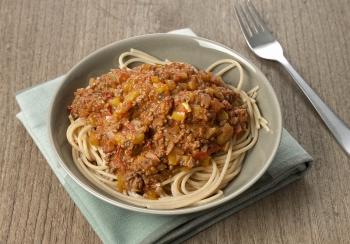 Spaghetti met Italiaanse gehaktsaus