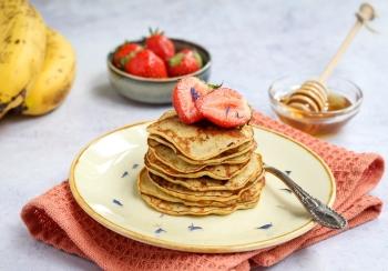 Snelle ontbijt pannenkoekjes